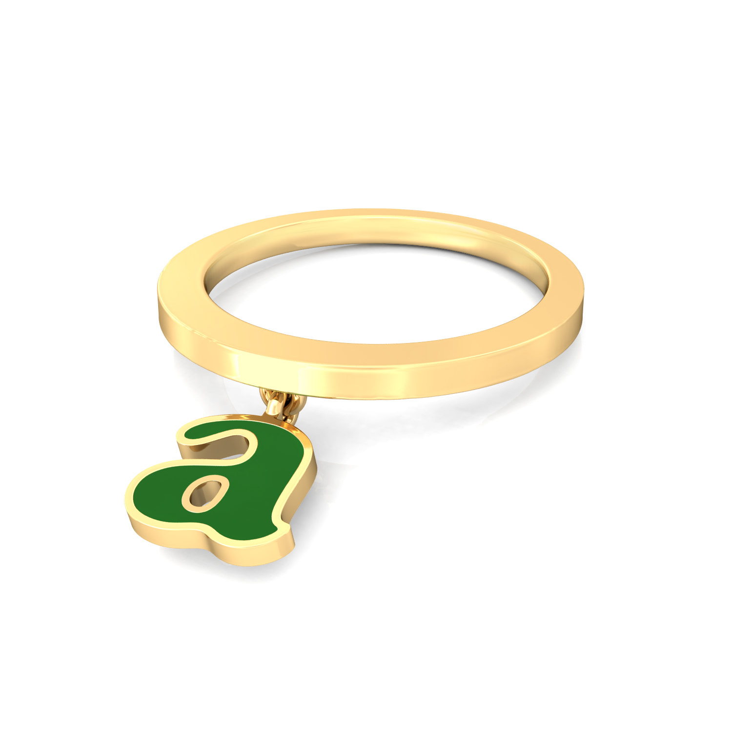 A-lister Gold Rings