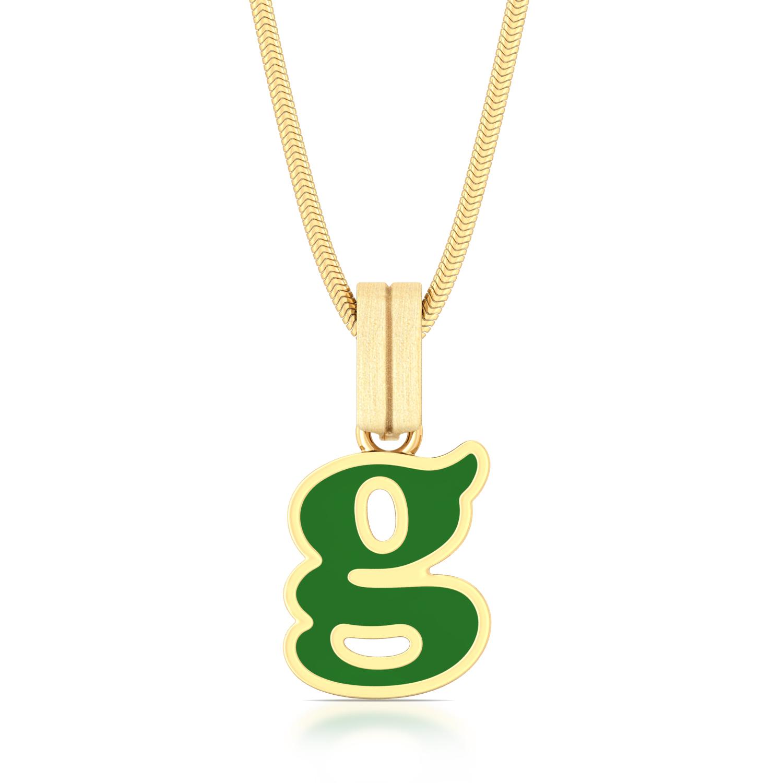 Girl power Gold Pendants