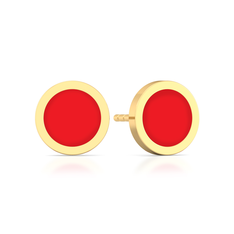 Mademoiselle Gold Earrings