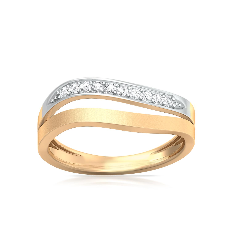 Citrus Gild Diamond Rings