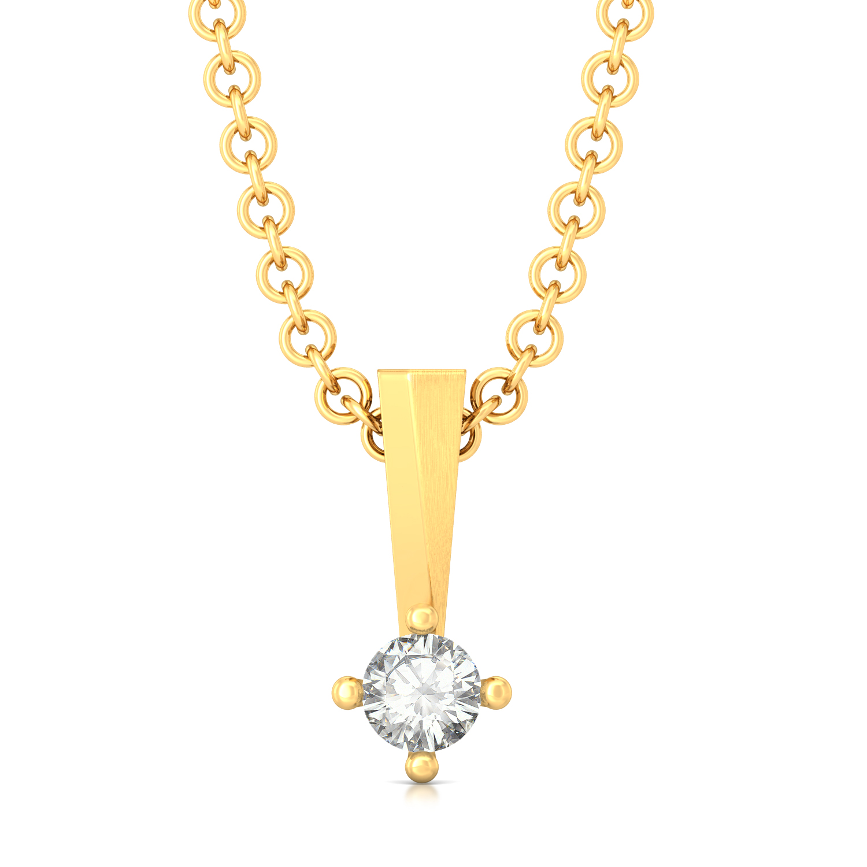 Sparkle Spot Diamond Pendants