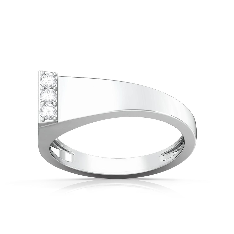 Tubular flarese Diamond Rings