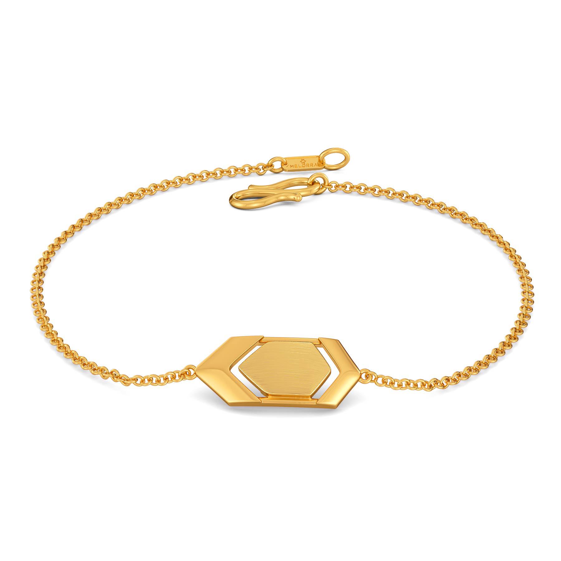 A La Mode Gold Bracelets