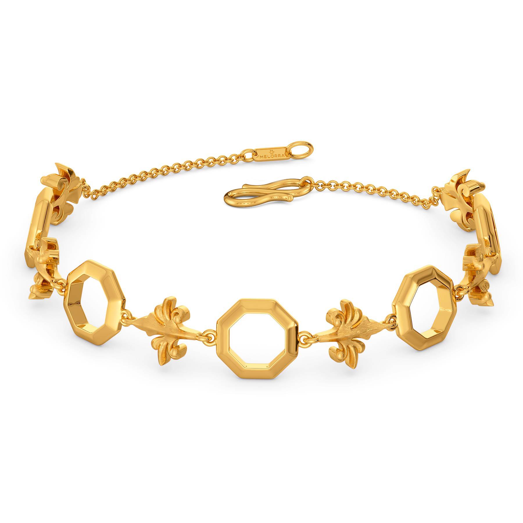 Victorian Dolls Gold Bracelets