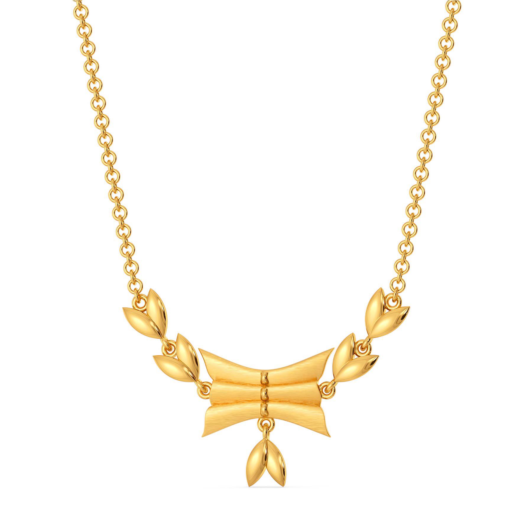Ruff No Fuss Gold Necklaces