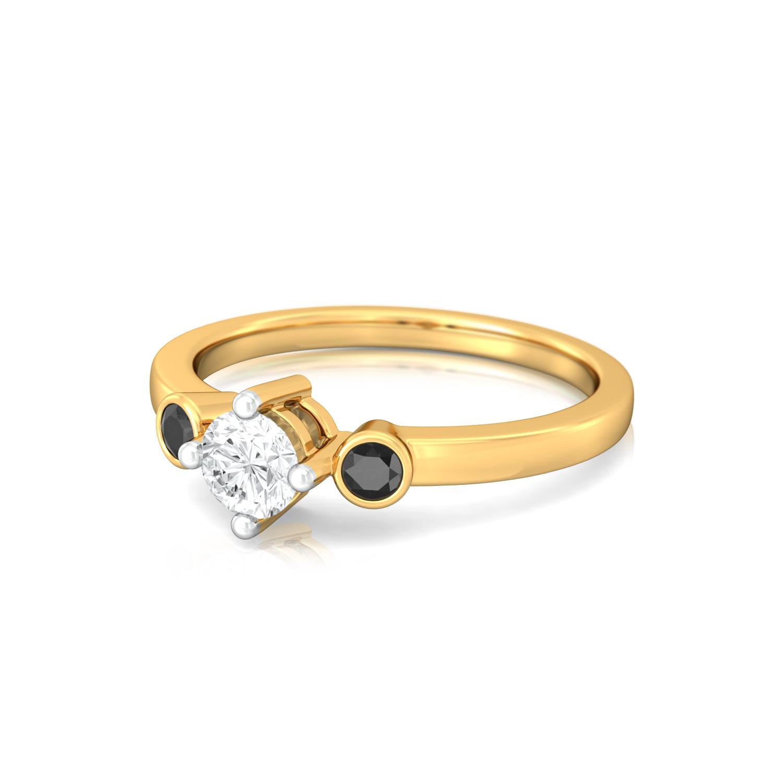 Night & Day Diamond Rings