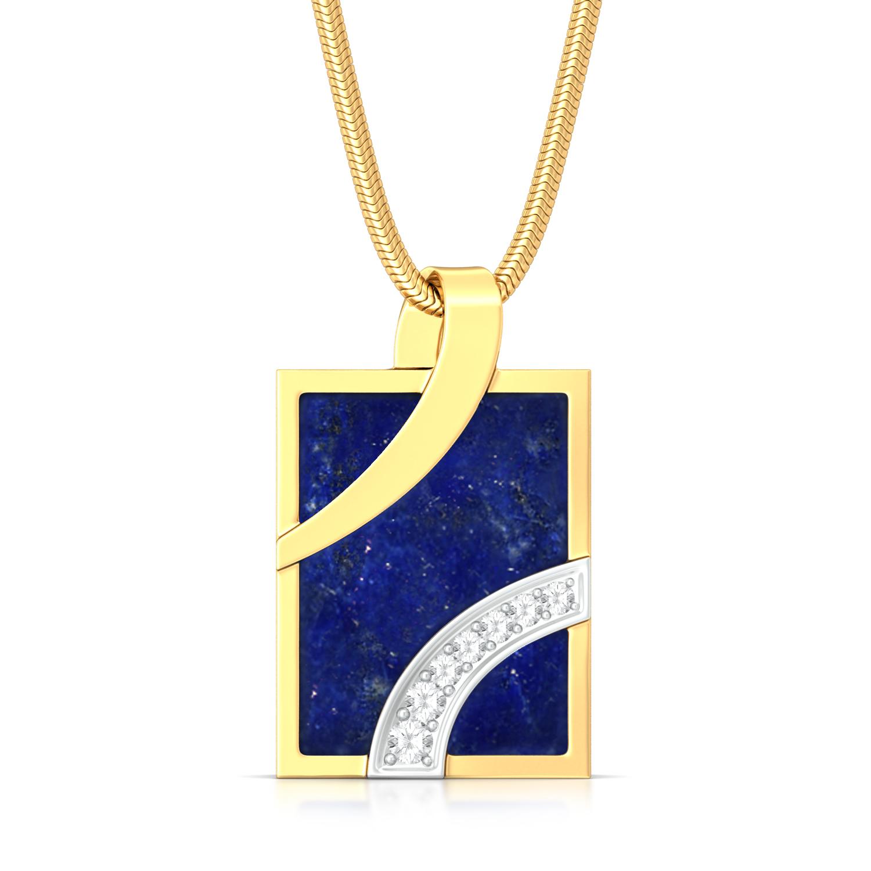 True Blues  Diamond Pendants