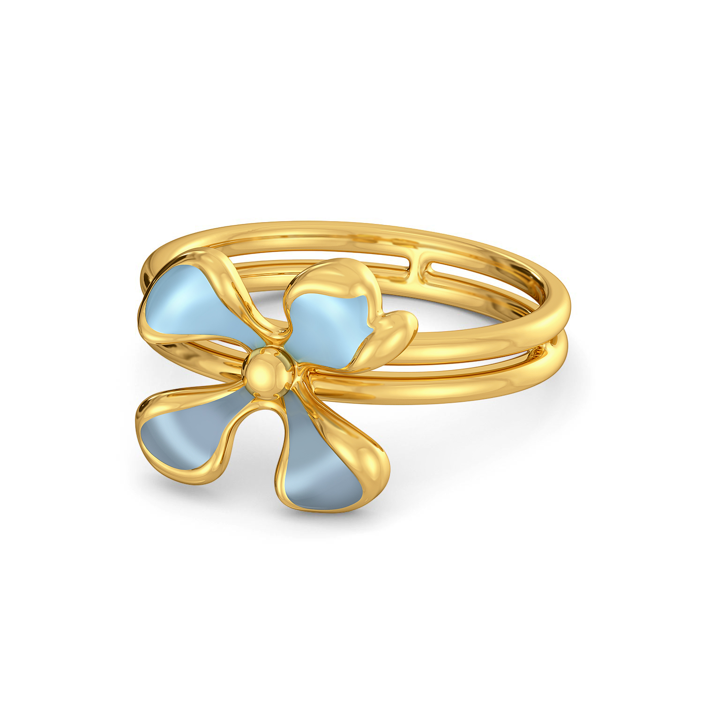Flor Bonica Gold Rings