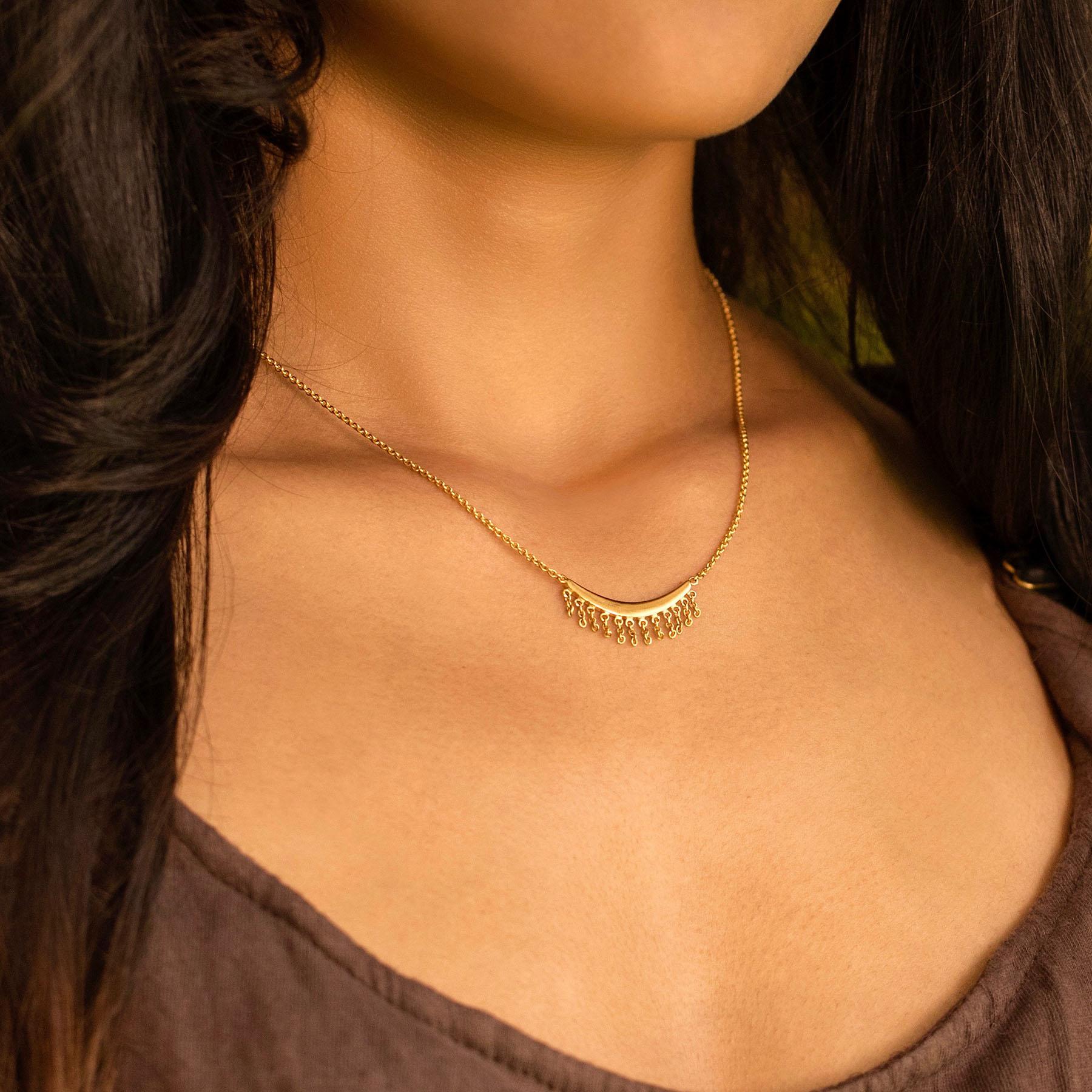 Bohemian Rapture Gold Necklaces