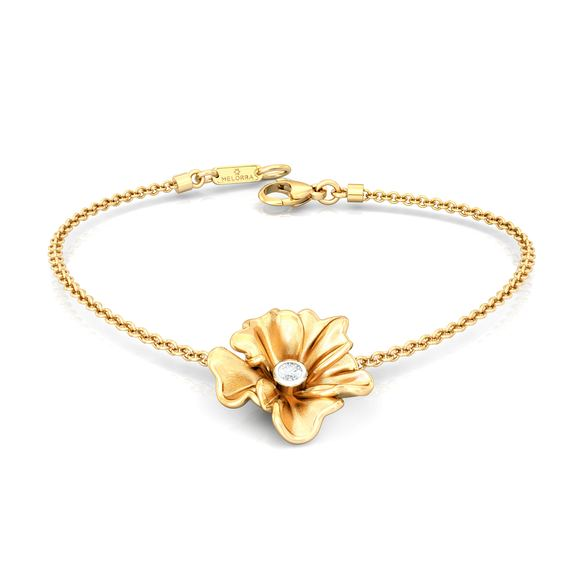 Yellow Carnation Diamond Bracelets