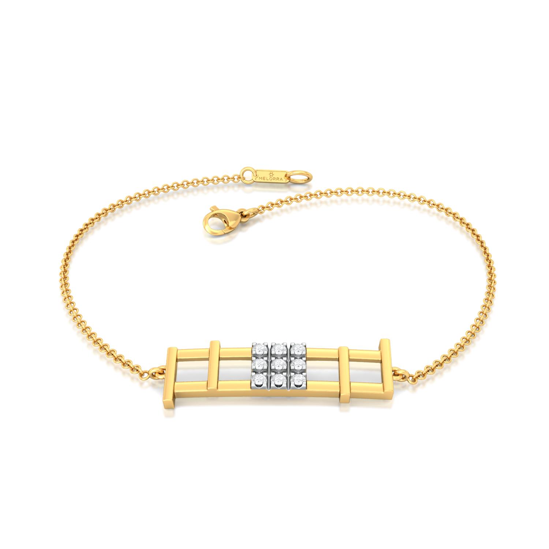 St. Square Diamond Bracelets
