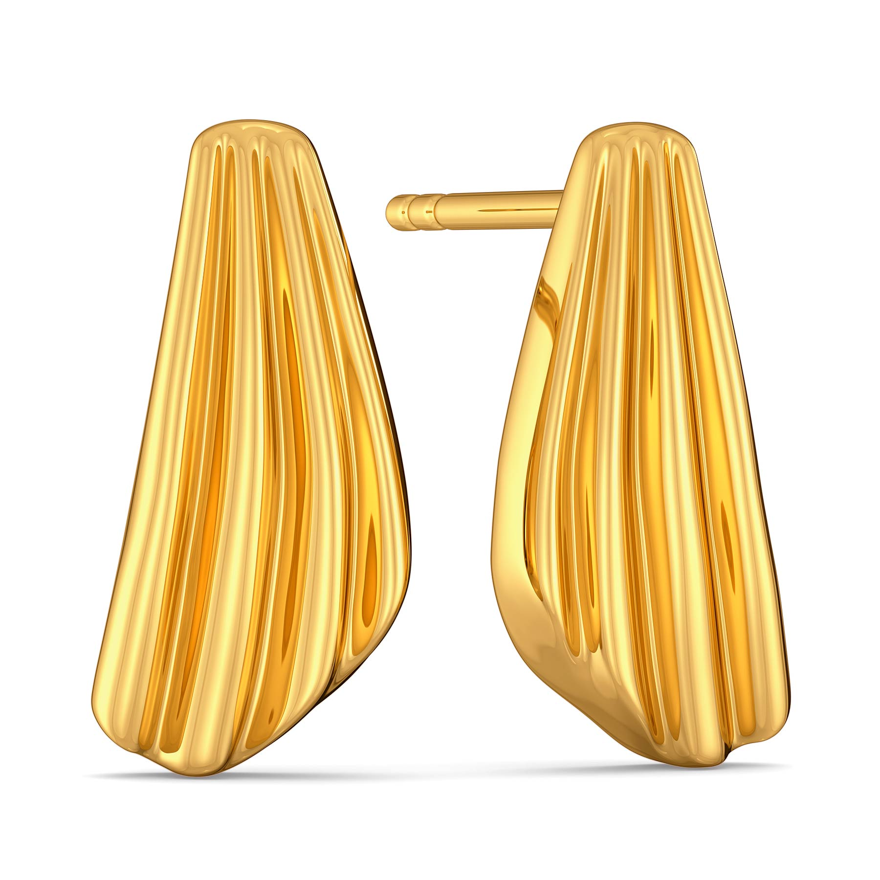 Boldly Roman Gold Earrings