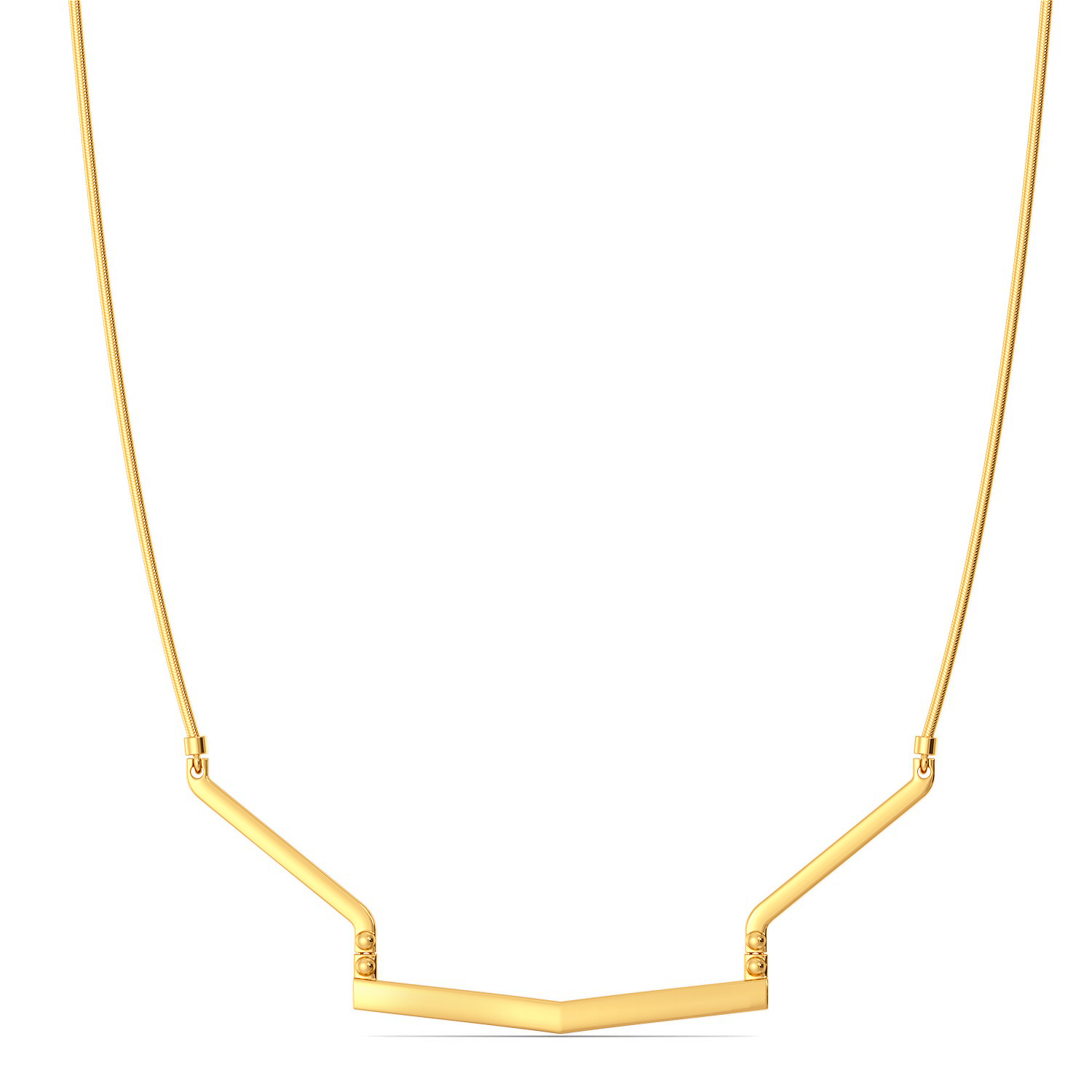 Classic Clasps Gold Necklaces