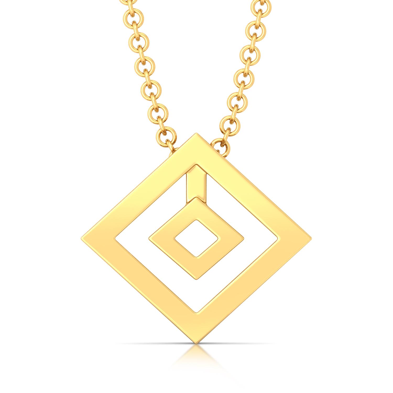 Quantum Control Gold Pendants