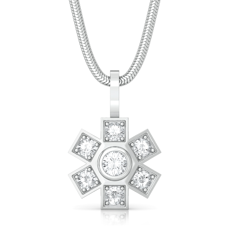Snowdrops Diamond Pendants