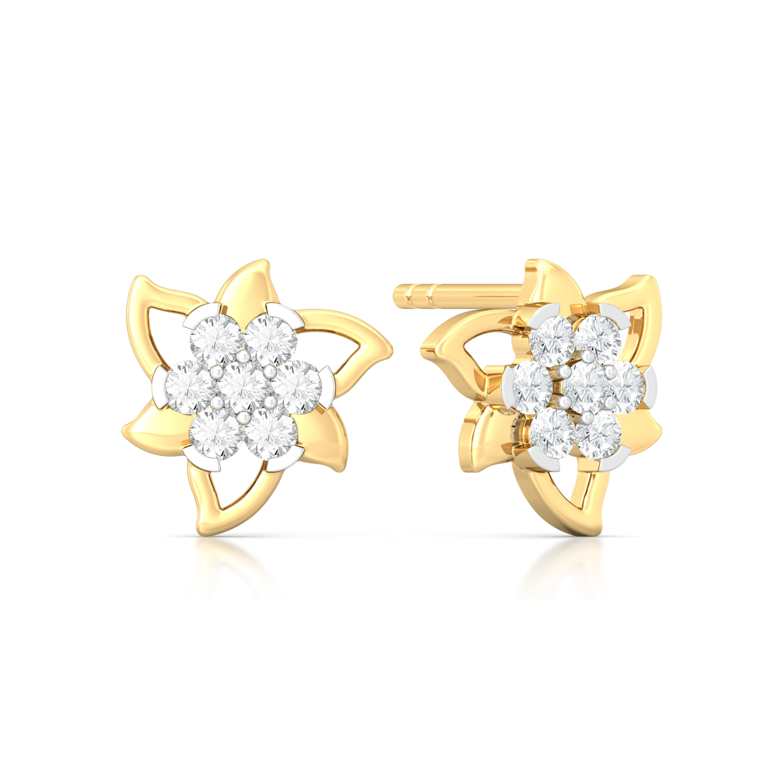 Star Belle Diamond Earrings