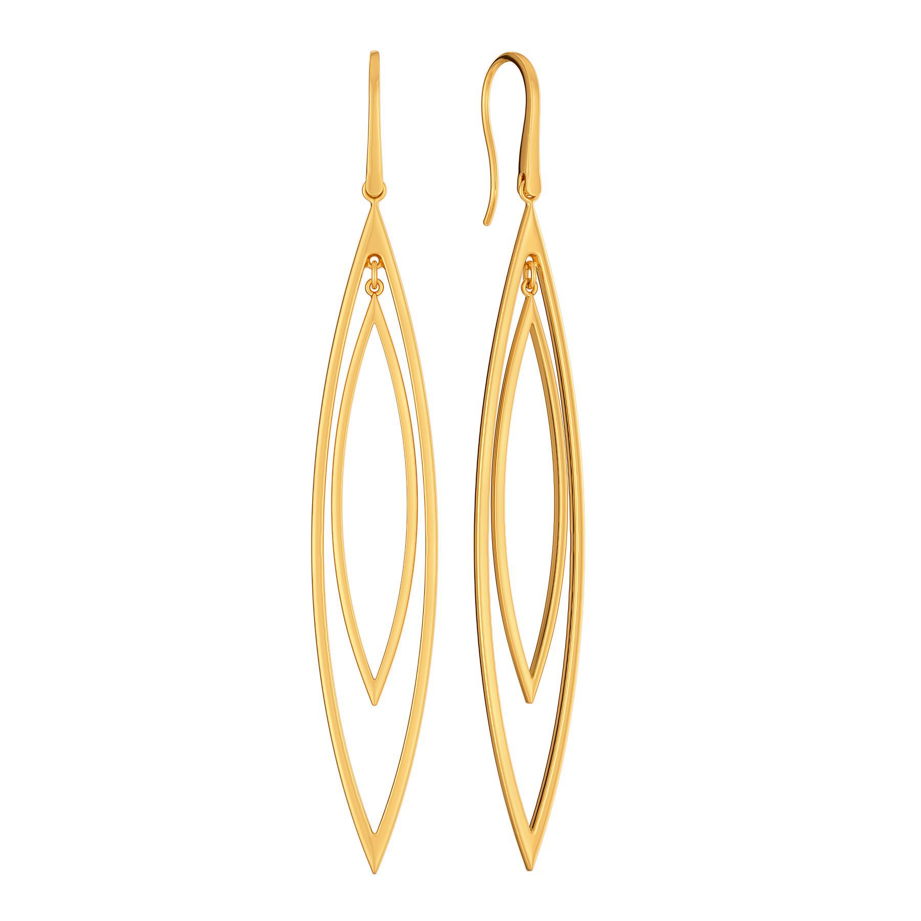 Link A Loop Gold Earrings