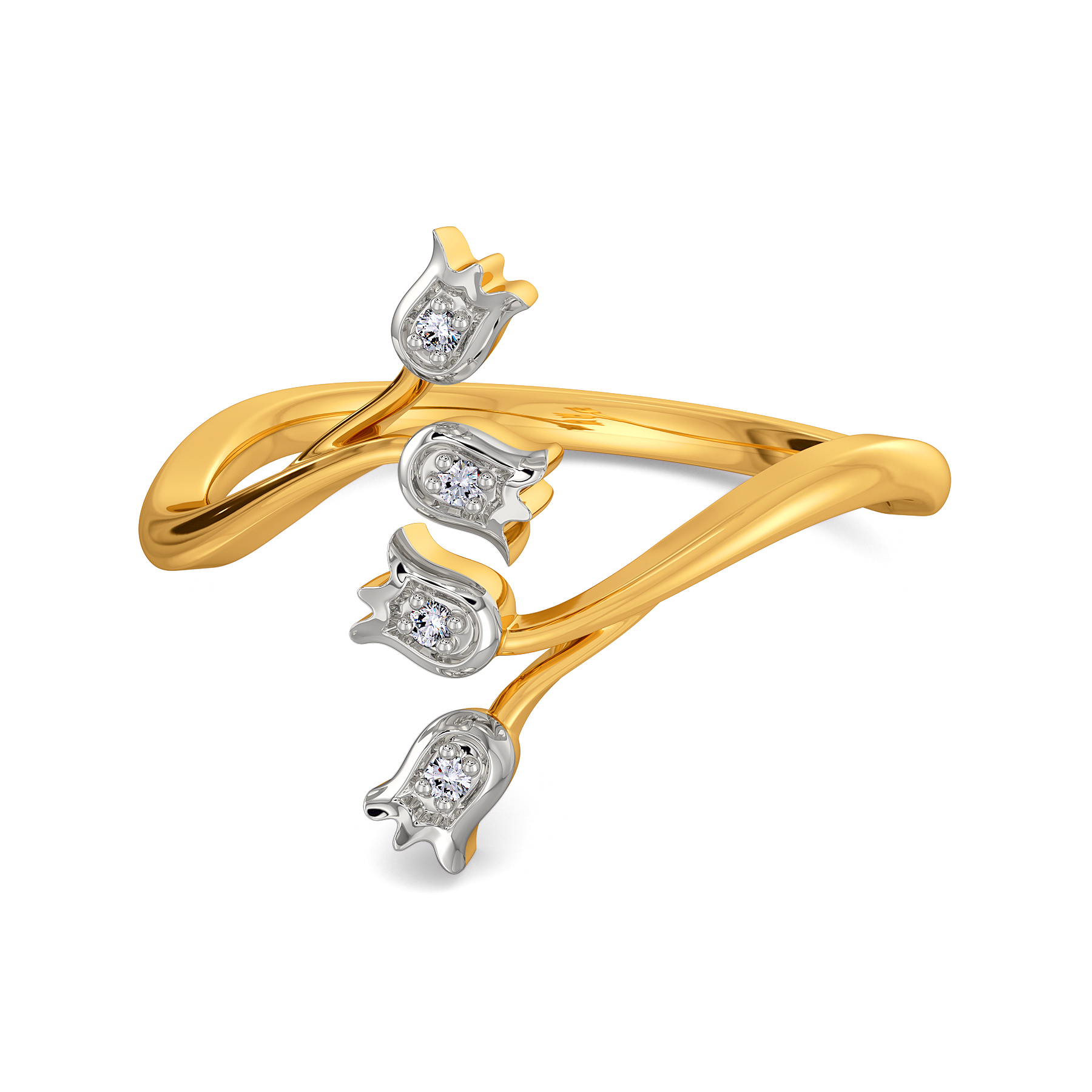 Daffodil Dreams Diamond Rings