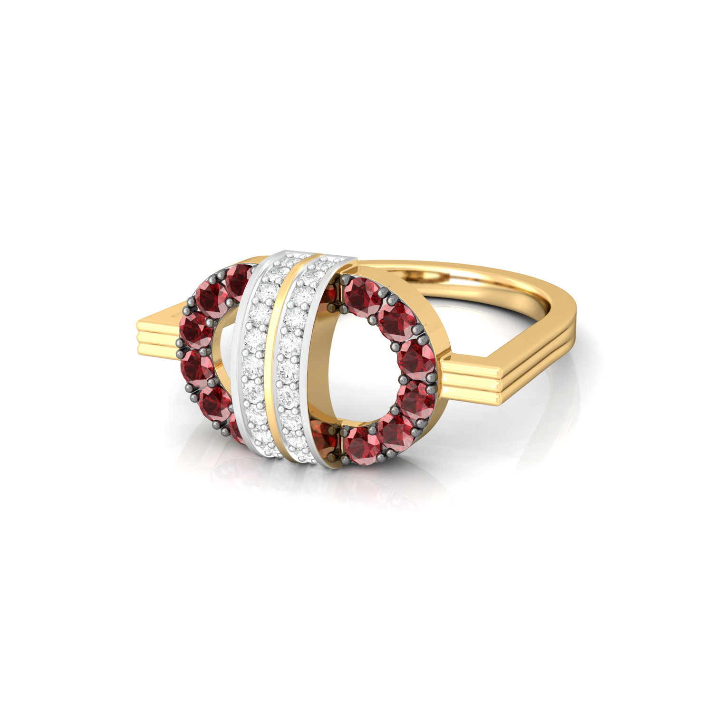 Strawberry Fields Diamond Rings