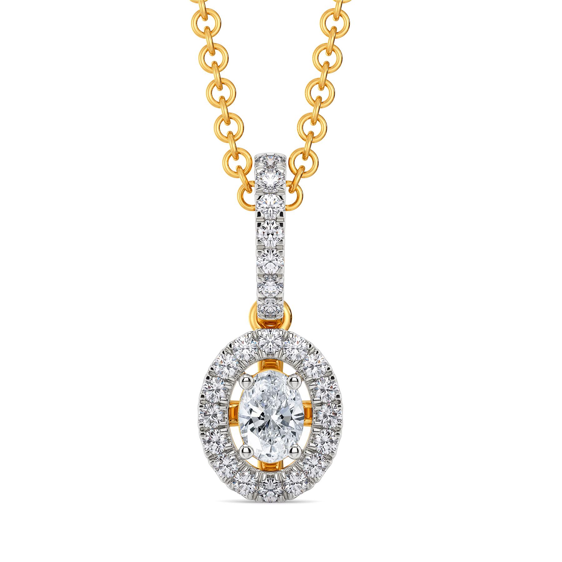 Twinkle Wink Diamond Pendants