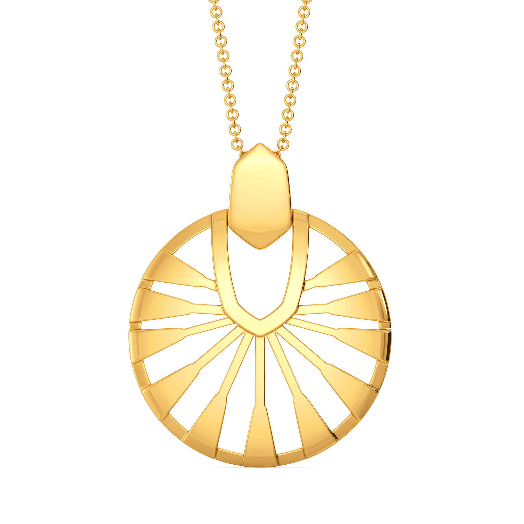 Elegant Boho Gold Pendants