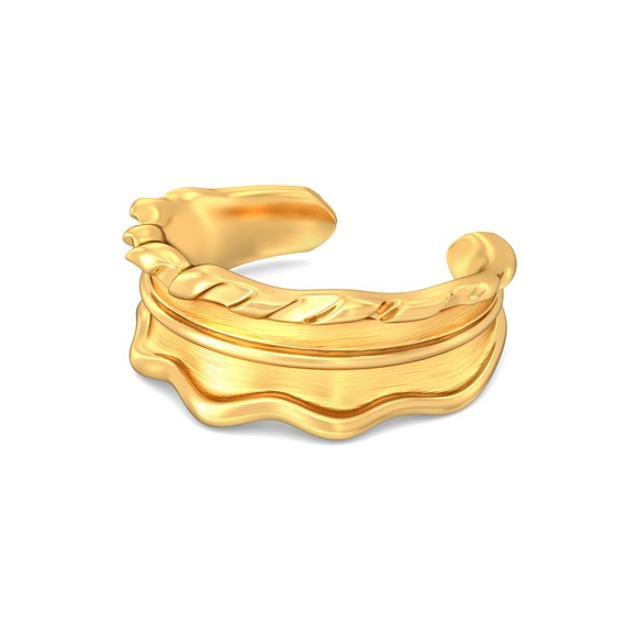 Endless Summer Gold Rings