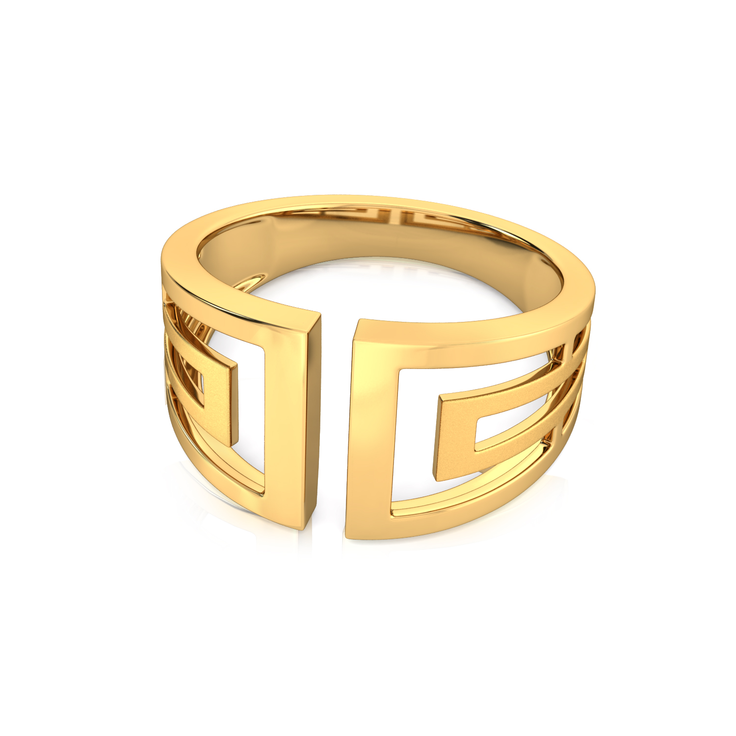 Out of the box Gold Rings