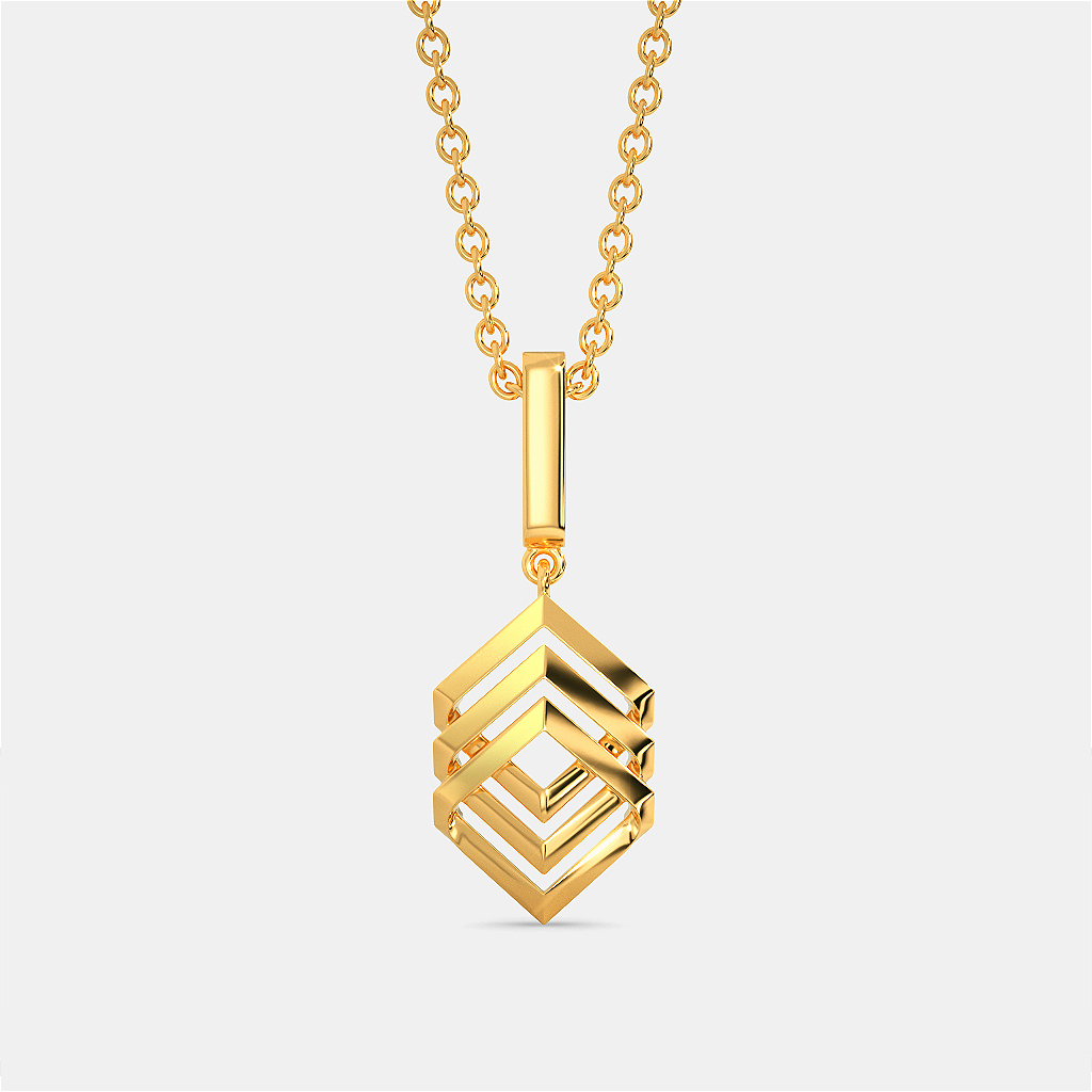 French Suave Gold Pendants