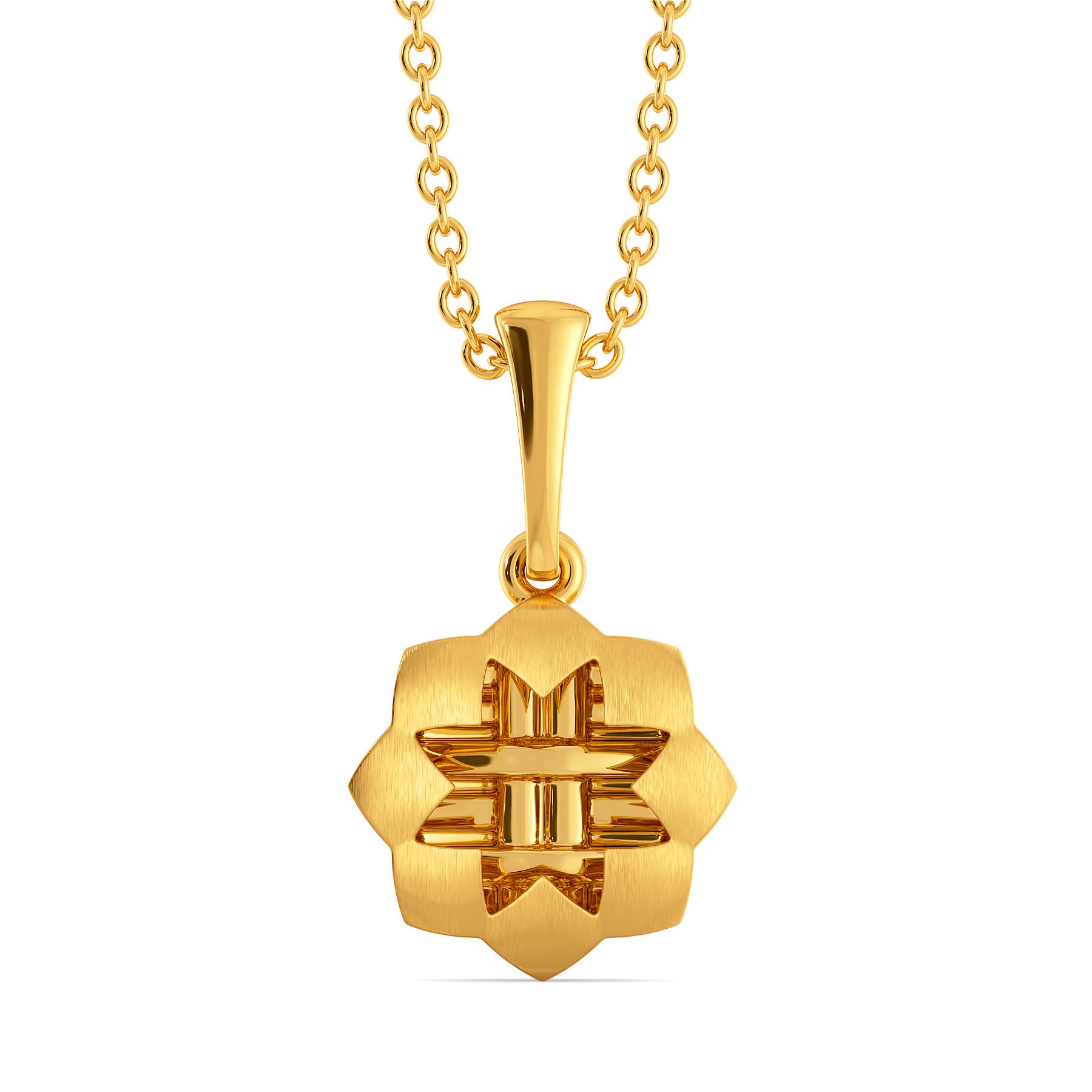 Wicker Vibes Gold Pendants