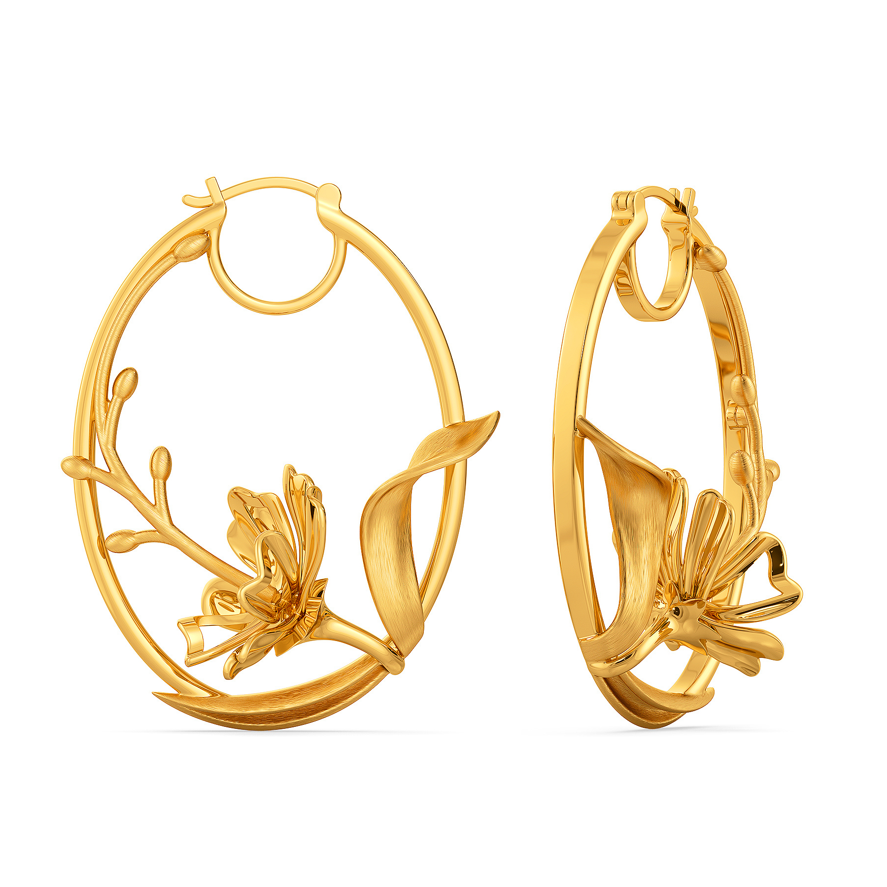 Joy O Flora Gold Earrings