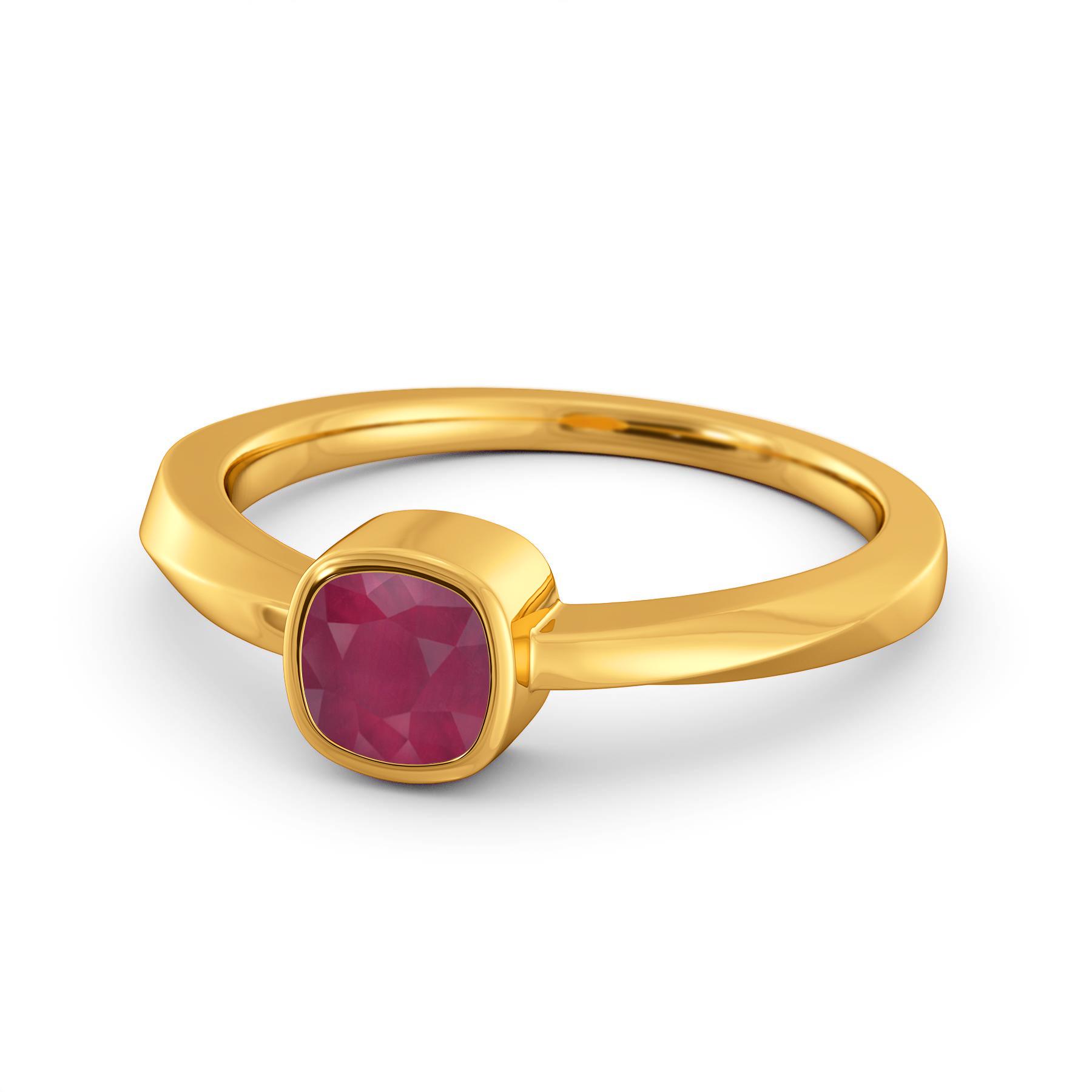 Ruby Ray Gemstone Rings