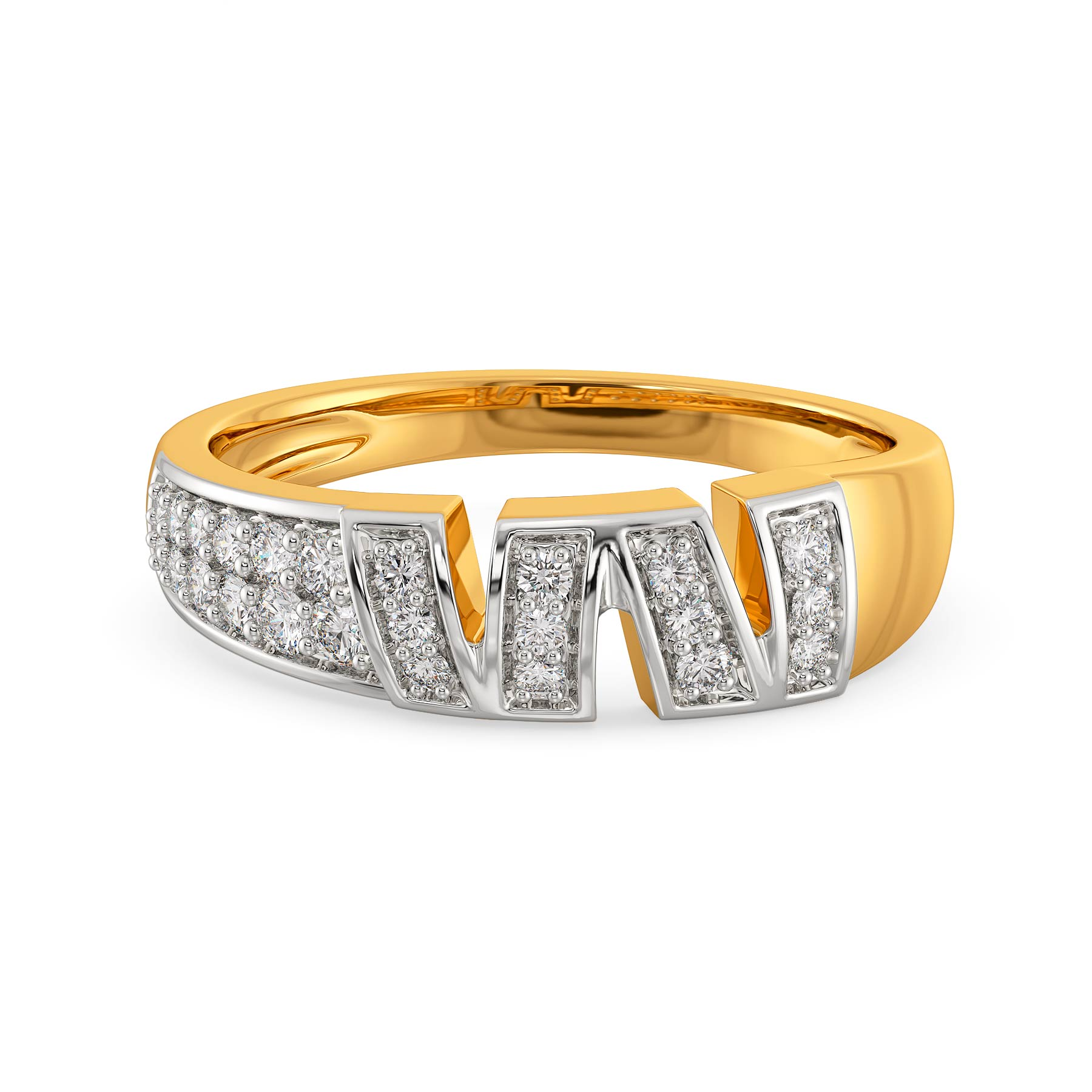 Undo Redo Diamond Rings