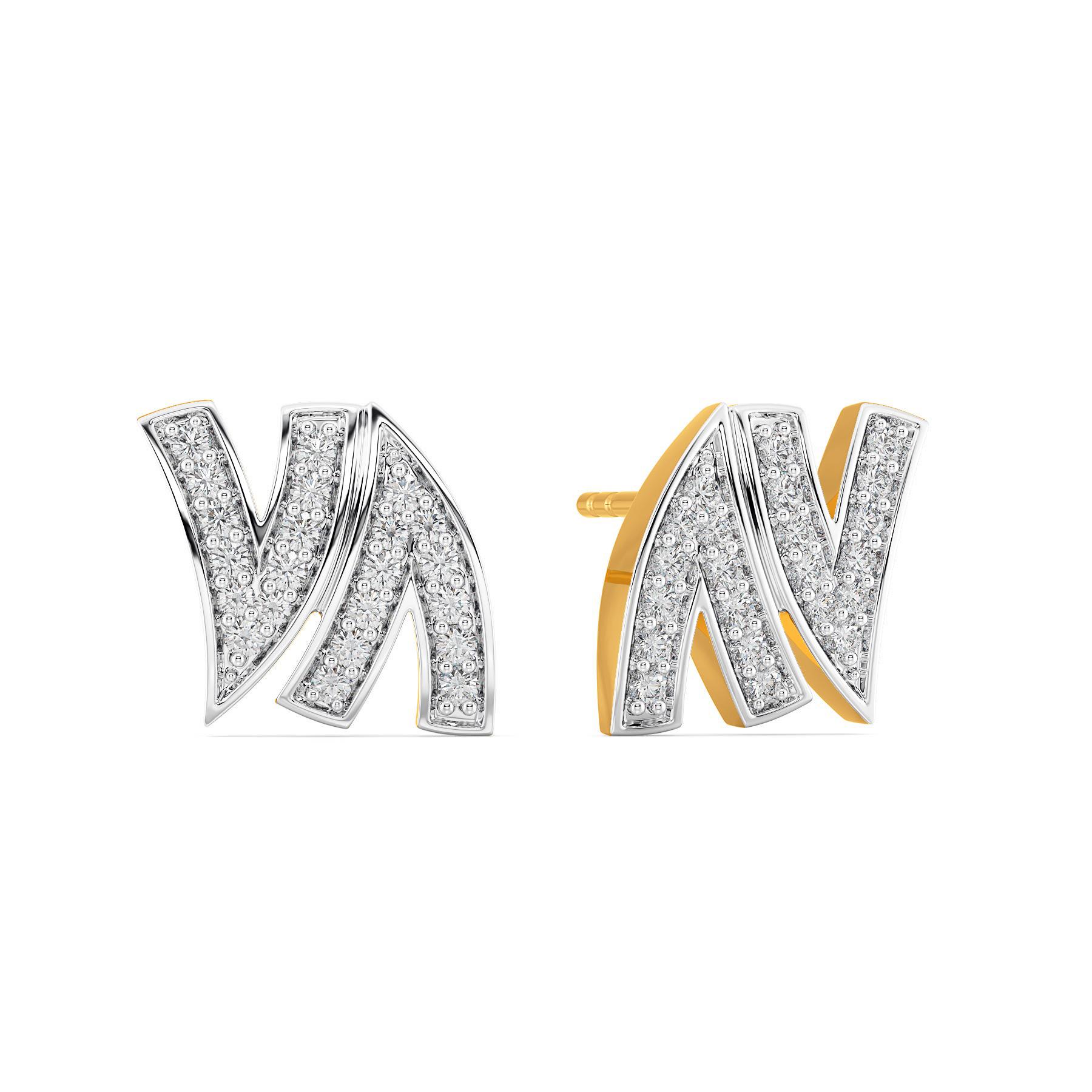 Work Vocation Diamond Earrings