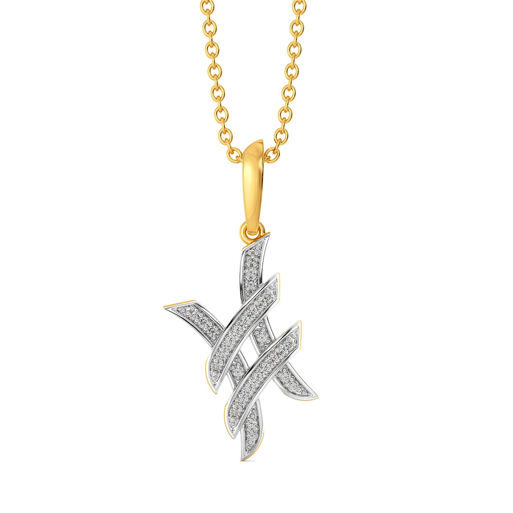 Reinvented Diamond Pendants
