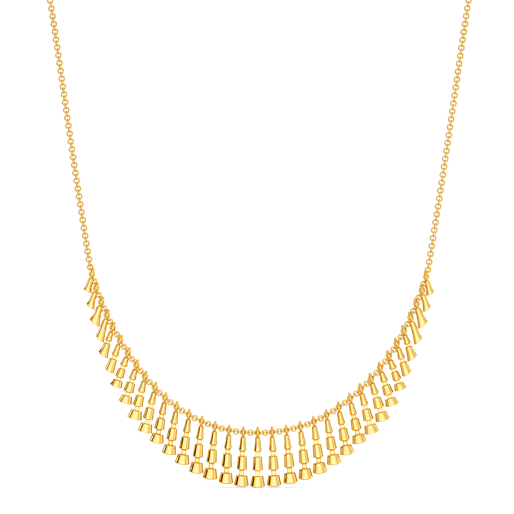 Funky Disco Gold Necklaces
