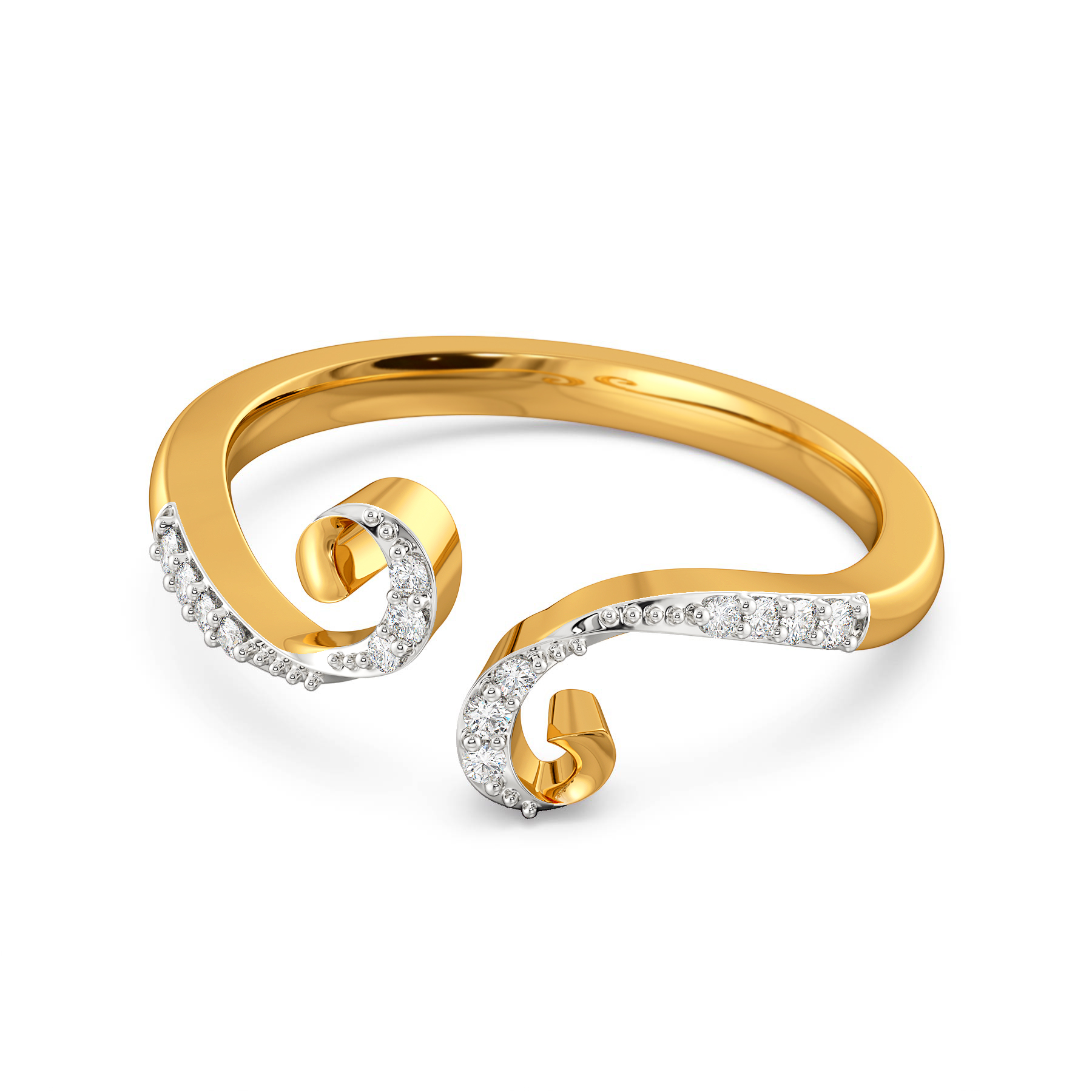 Disco Pop Diamond Rings