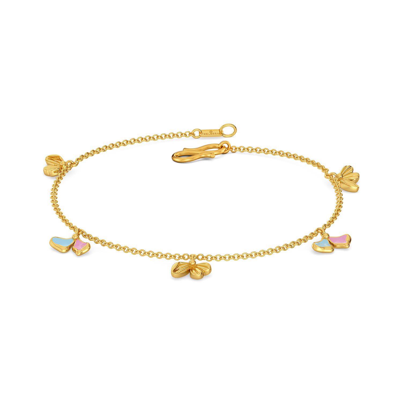 La Flor Gold Bracelets