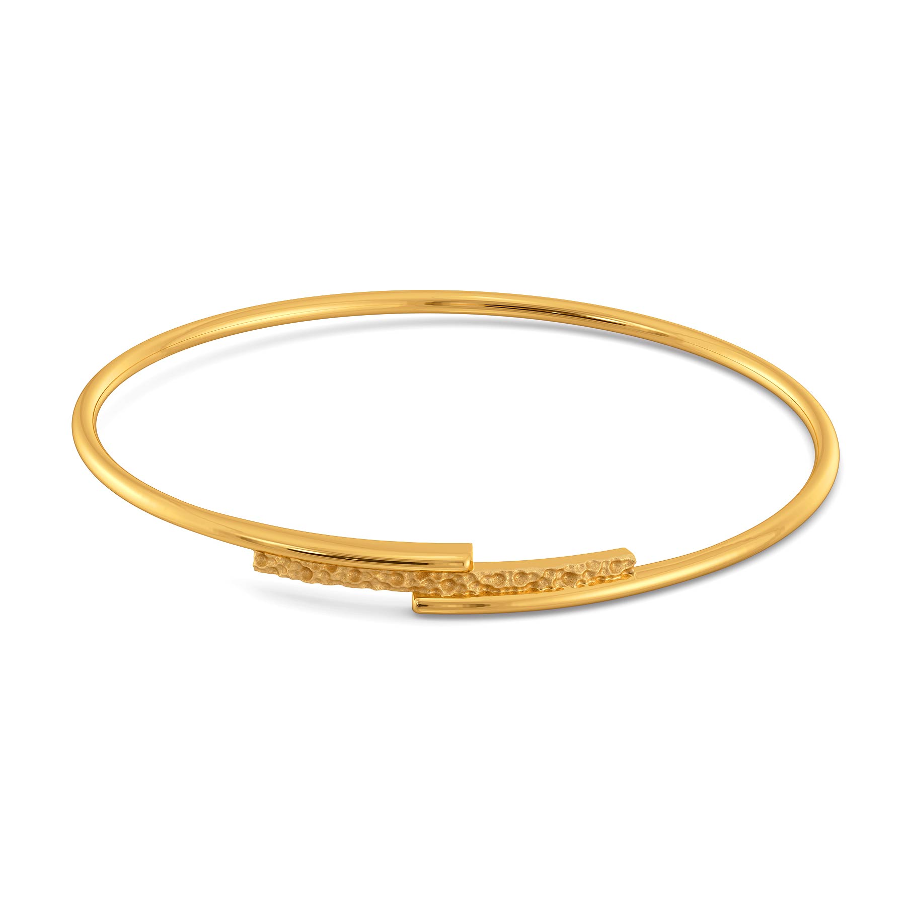 Eclectic Edge Gold Bangles