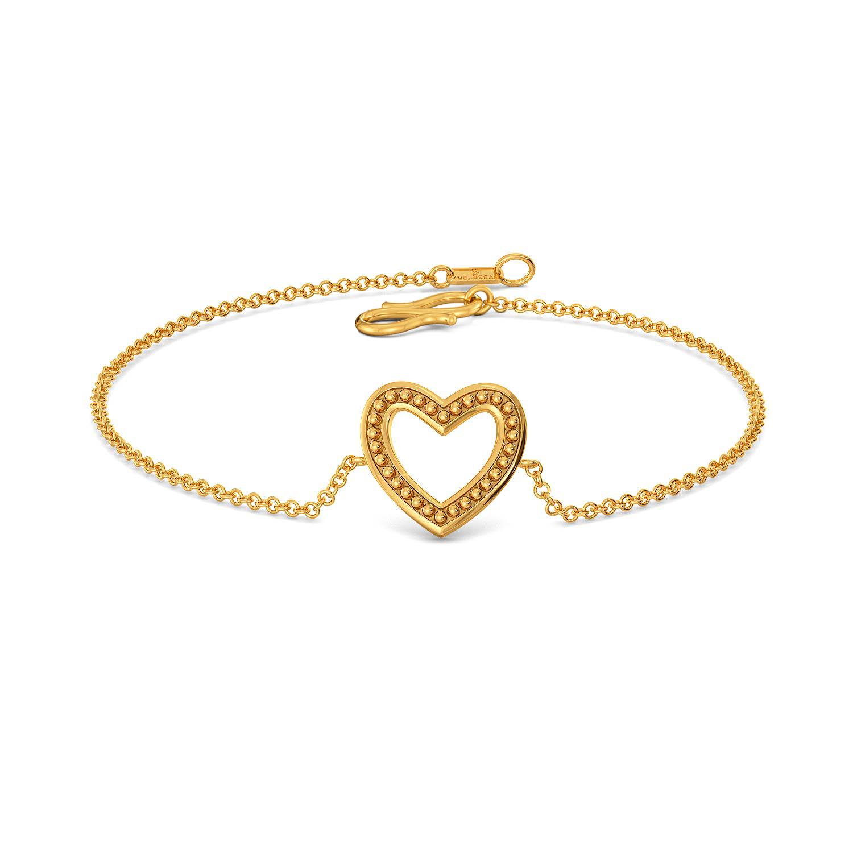 Club Love Gold Bracelets