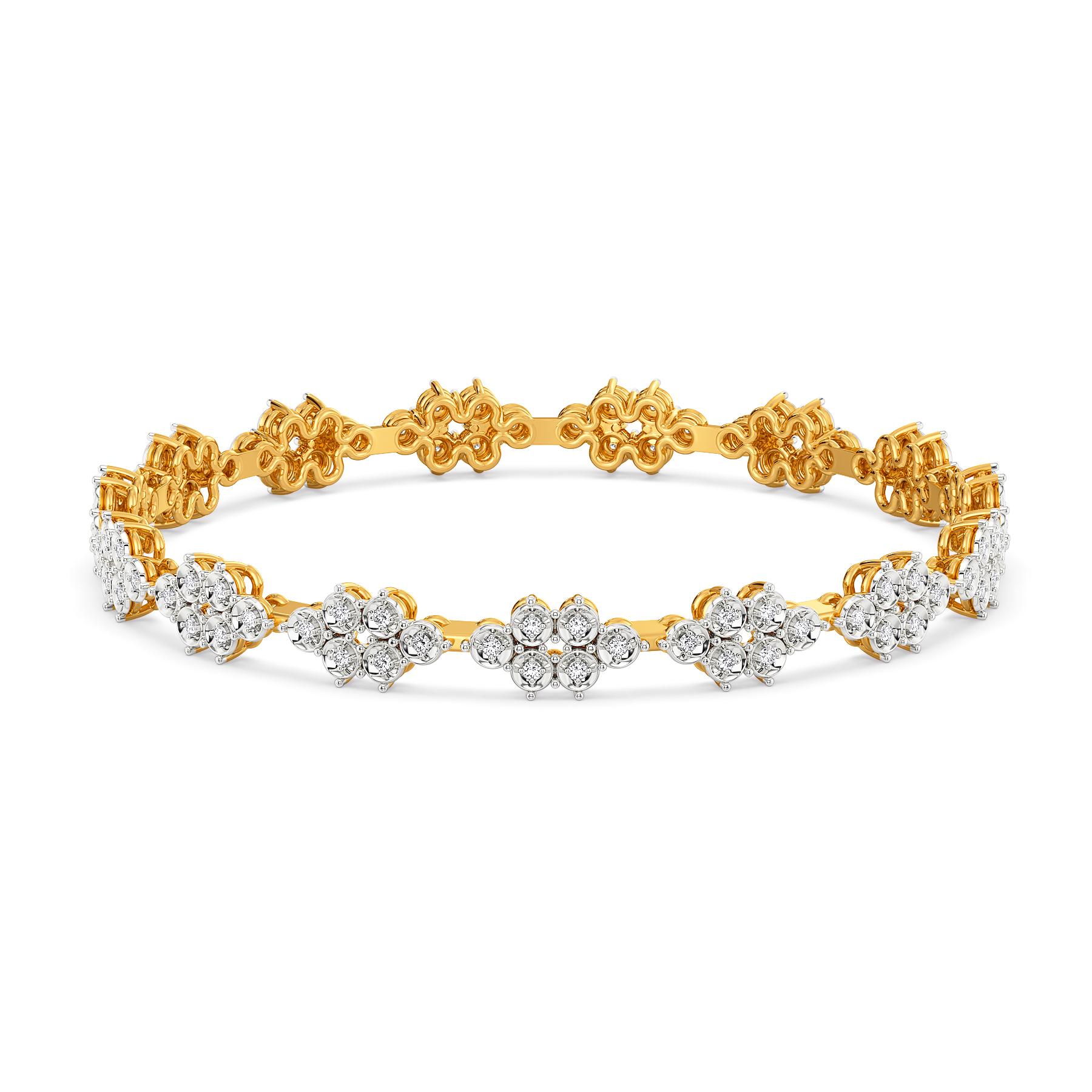 Twinkle Blink Diamond Bangles