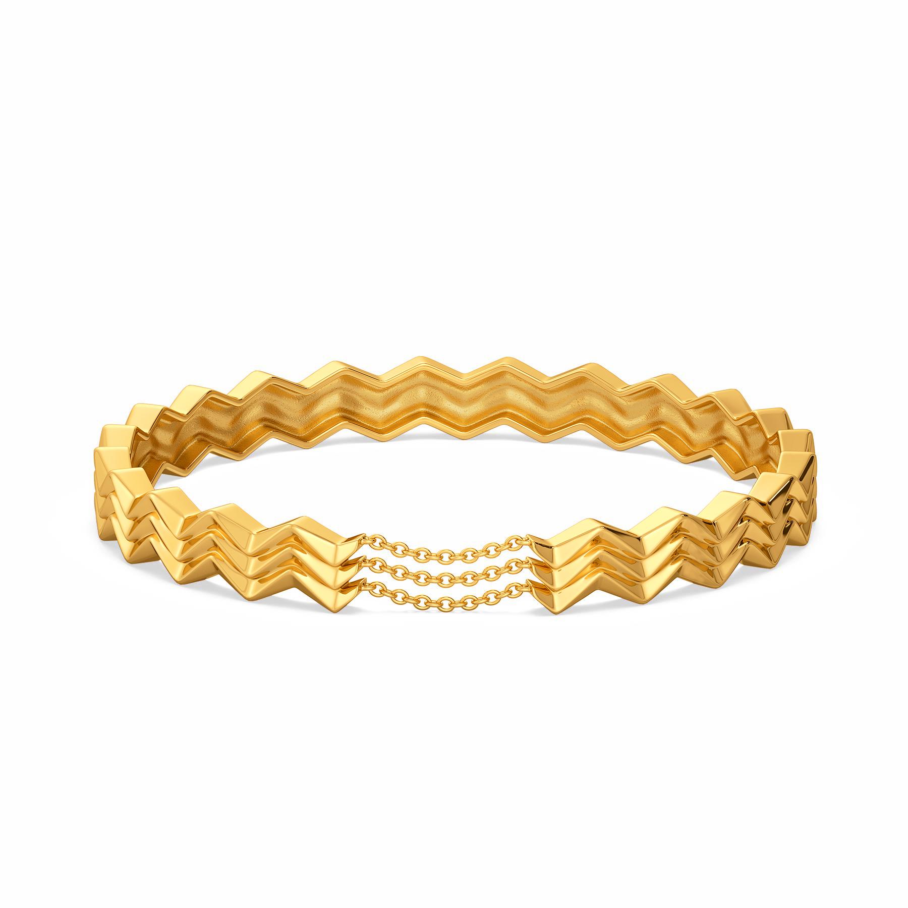 Chain Rebel Gold Bangles