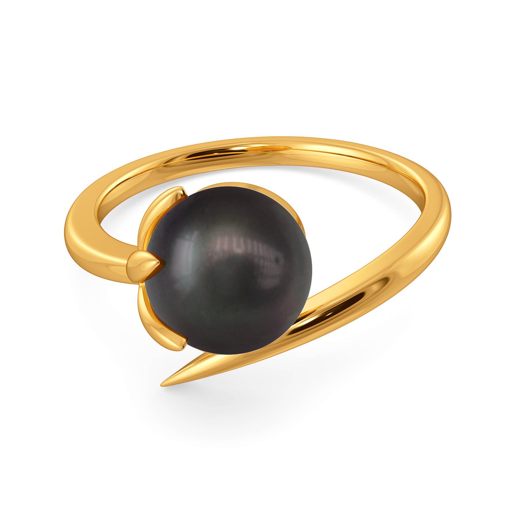 Colour Me Black Gemstone Rings
