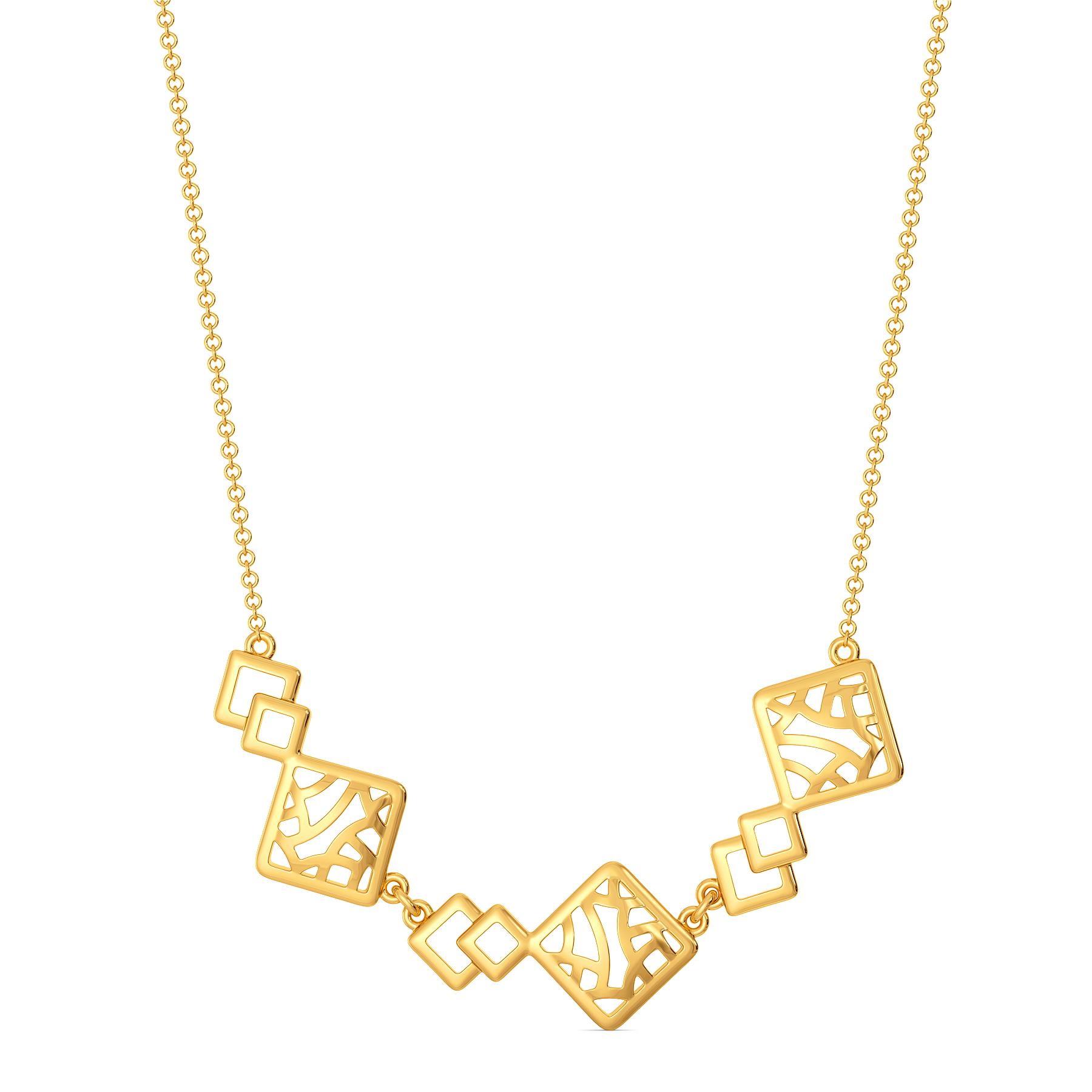 Net Reveals Gold Necklaces