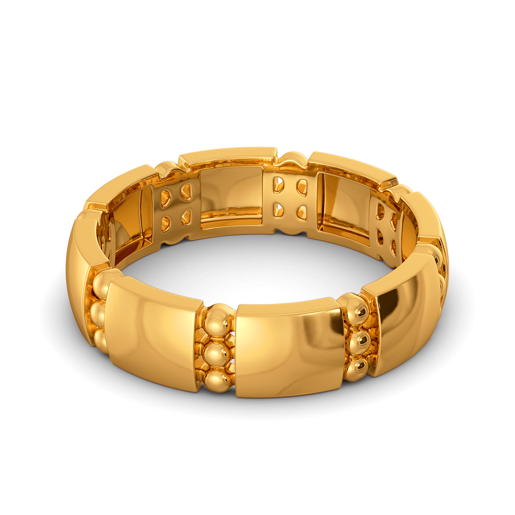 Prime Pitch Gold Rings
