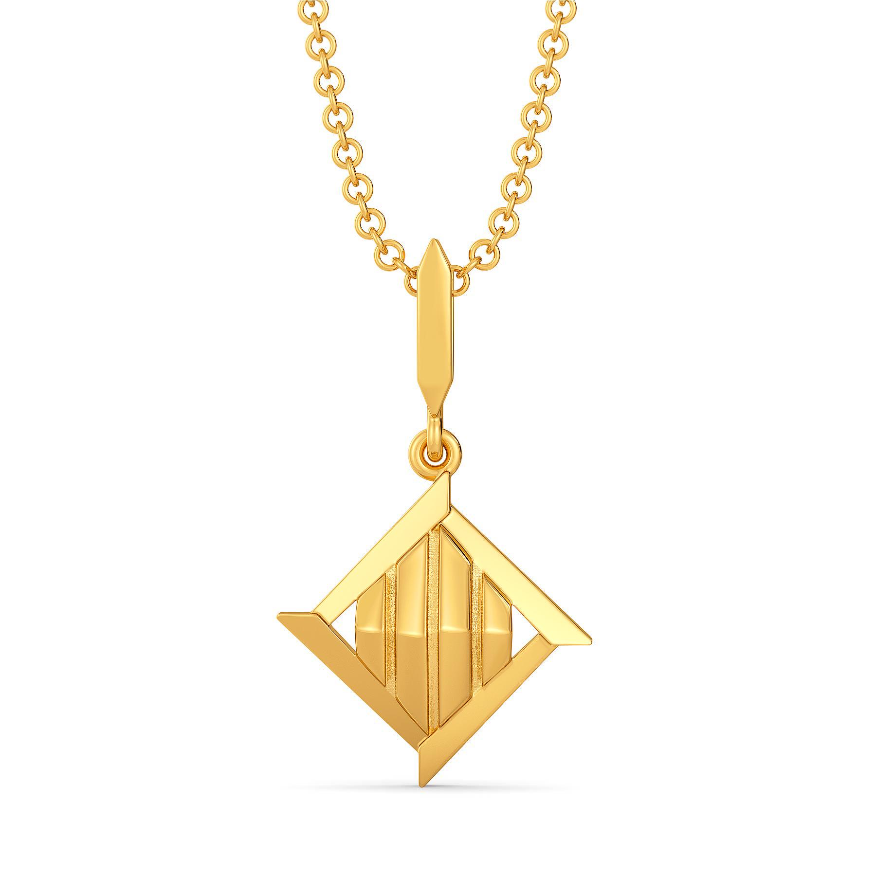 Boss Up  Gold Pendants