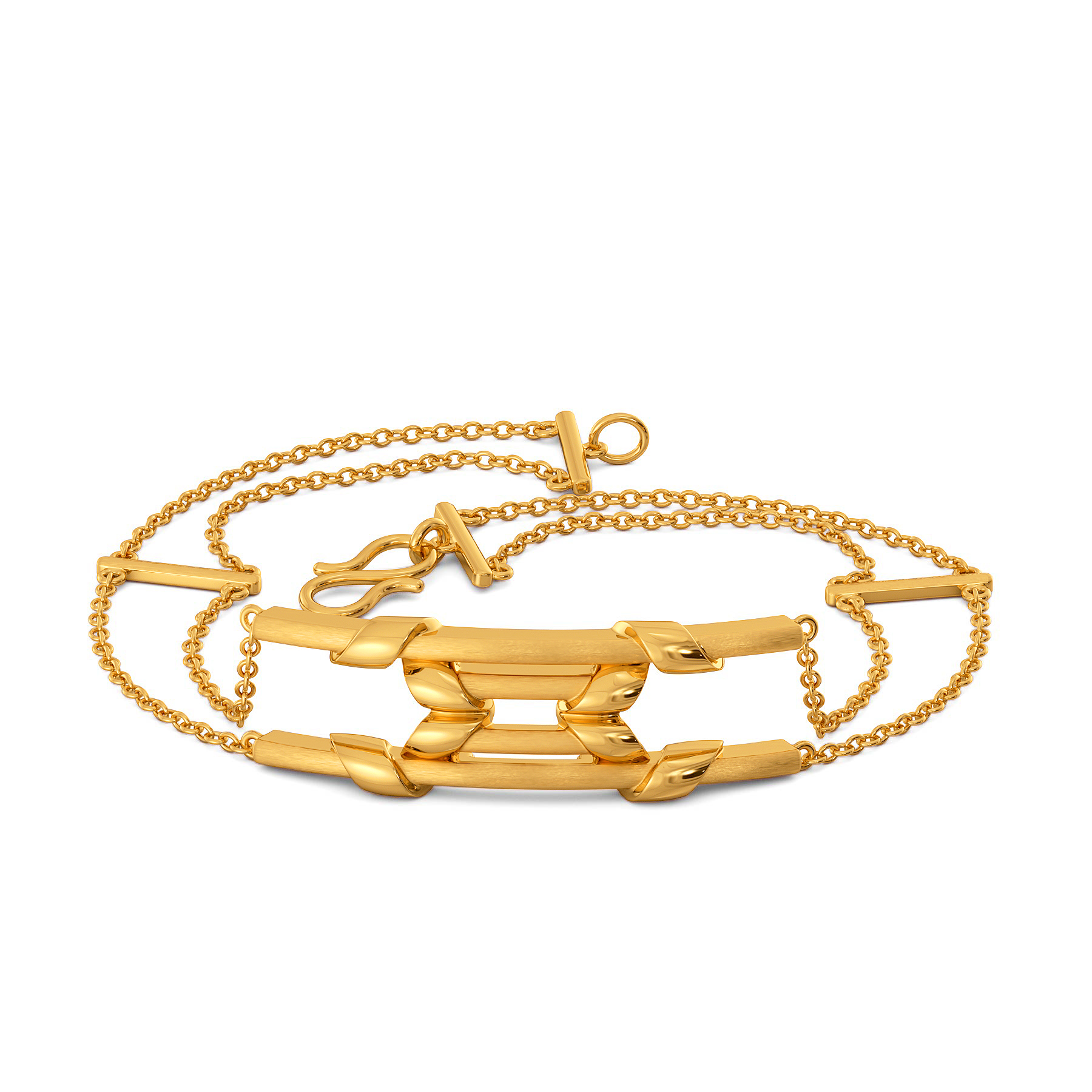 Squad Synergy Gold Bracelets