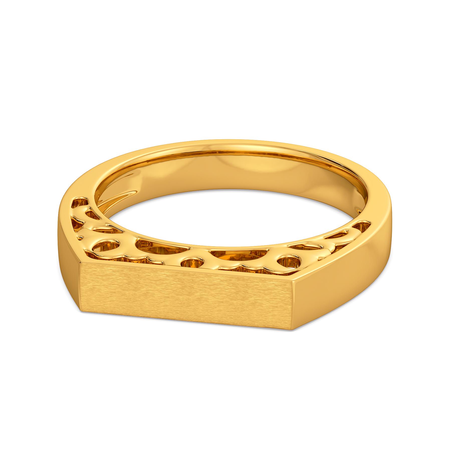Collar Crowd Gold Rings