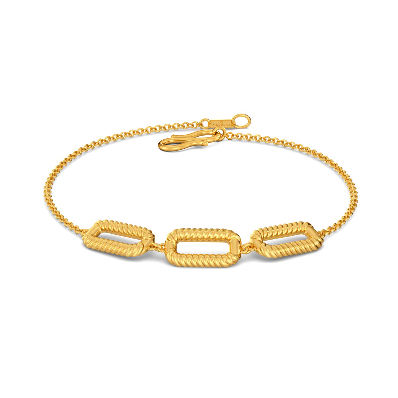 Rosette Fields Gold Bracelets