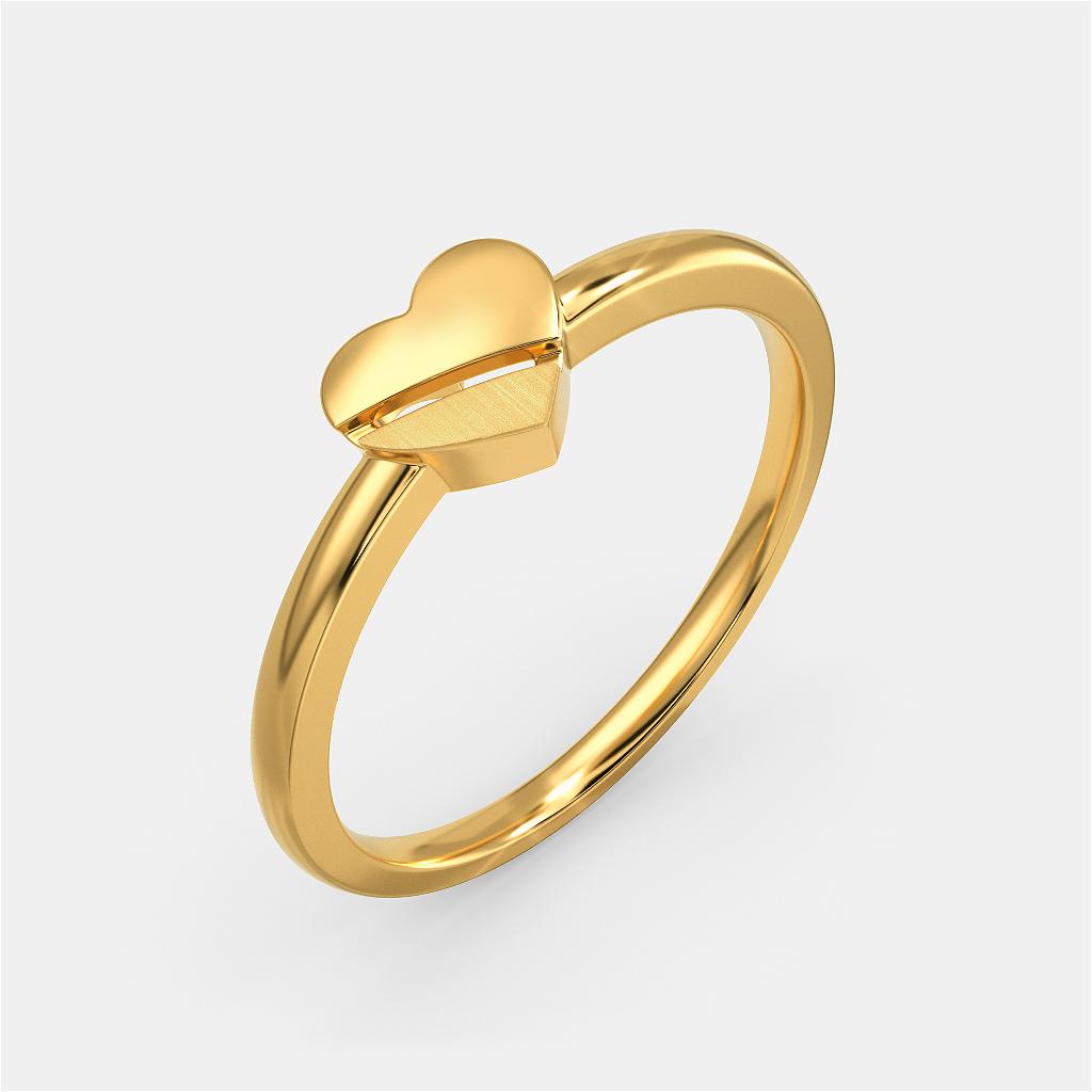 Classique Devotion Gold Rings