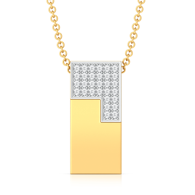 Jigsaw Diamond Pendants